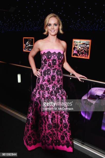 Amanda Davies attends the BT Sport Industry Awards 2018 at Battersea Evolution on April 26 2018 in London England The BT Sport Industry Awards is the...