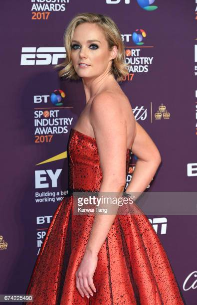 Amanda Davies attends the BT Sport Industry Awards at Battersea Evolution on April 27 2017 in London England