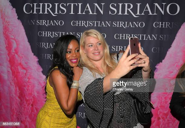 Amanda de Cadenet and Niecy Nash attend Christian Siriano's celebration of the launch of his new book 'Dresses To Dream About' in Los Angeles at...
