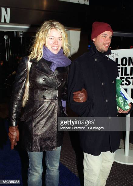 Amanda de Cadenet at the closing night gala of The London Film Festival for the European premiere of Sam Mendes' cinematic debut American Beauty...