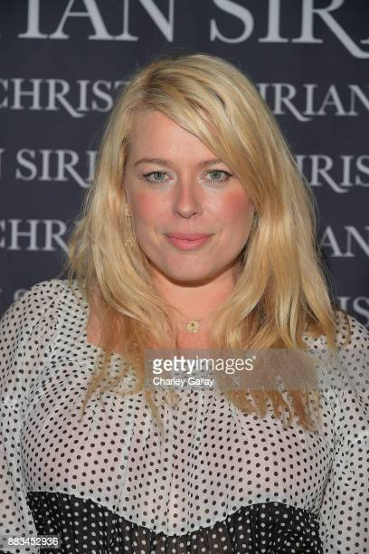 Amanda de Cadenet attends Christian Siriano's celebration of the launch of his new book 'Dresses To Dream About' in Los Angeles at Chateau Marmont on...