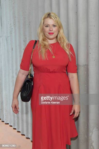 Amanda de Cadenet attends Conde Nast The Women March's Cocktail Party to Celebrate the One Year Anniversary of the March the Publication of Together...
