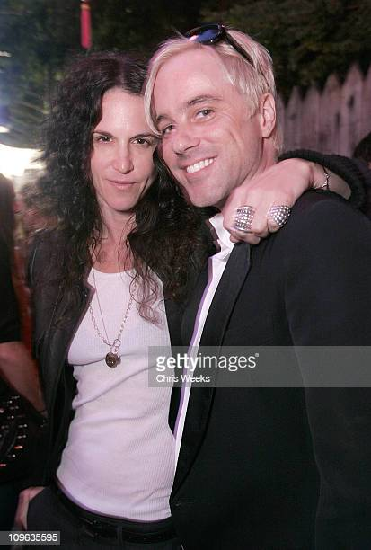 Amanda Demme and Bryan Rabin during Dave Stewart Hosts the Unveiling of Coco de Mer Boutique Inside at Coco de Mer in West Hollywood California...