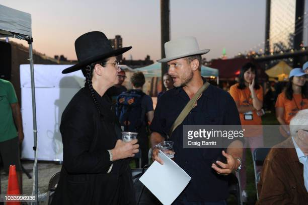 Amanda Demme and Christopher Anderson attend the New York Magazine Jody Quon Celebrate 50 Years on September 15 2018 in New York City