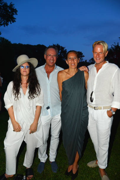 NY: LongHouse Reserve 2019 Summer Benefit Honoring Julian Schnabel And Donna Karan