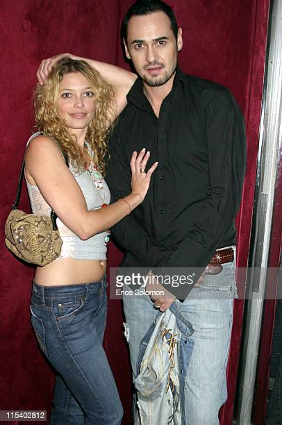Amanda Detmer and Bird **Exclusive Coverage** during Amanda Detmer and Fiance Bird Engagement Celebration July 1 2005 at Basque Restaurant Lounge in...