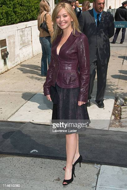 Amanda Detmer during ABC Upfront 2006/2007 Arrivals at Lincoln Center in New York City New York United States