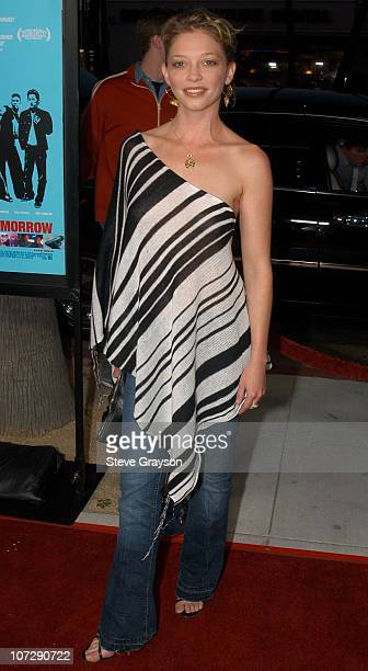 Amanda Detmer during Better Luck Tomorrow Los Angeles Premiere at Landmark Cecchi Gori Fine Arts Theater in Beverly Hills California United States
