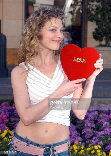 Amanda Detmer during Kiss The Bride Cast Raise Funds for City Hearts at The Grove in Los Angeles California United States