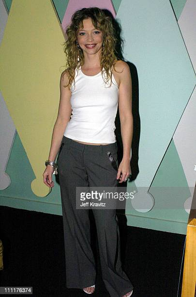 Amanda Detmer during Kiss the Bride Launch Party at Monroe's in Hollywood California United States