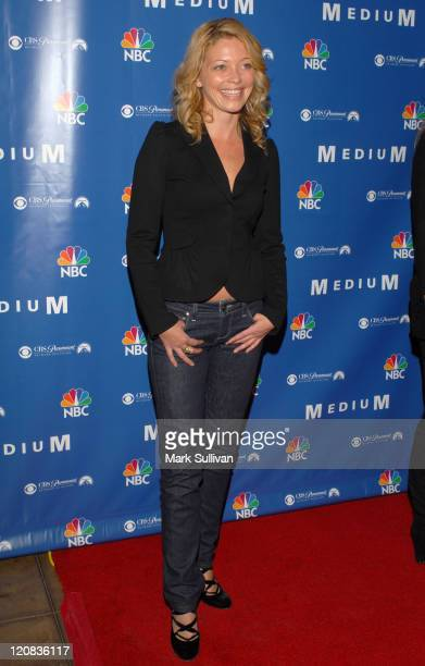 Amanda Detmer during NBC Hosts Medium Supernational Soiree at Stephen Cohen Gallery in Beverly Hills California United States