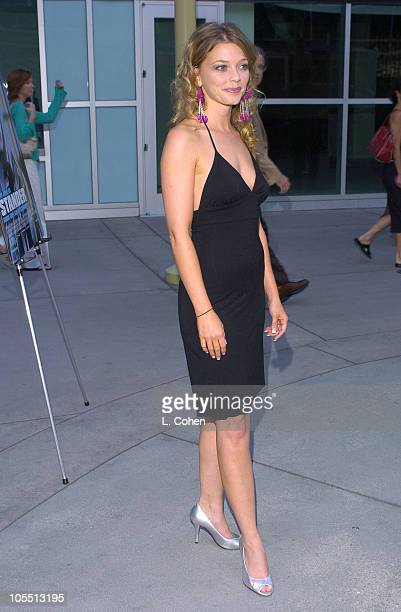 Amanda Detmer during Stander Los Angeles Premiere Red Carpet at Arclight in Los Angeles California United States
