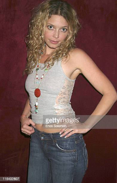 Amanda Detmer **Exclusive Coverage** during Amanda Detmer and Fiance Bird Engagement Celebration July 1 2005 at Basque Restaurant Lounge in Hollywood...
