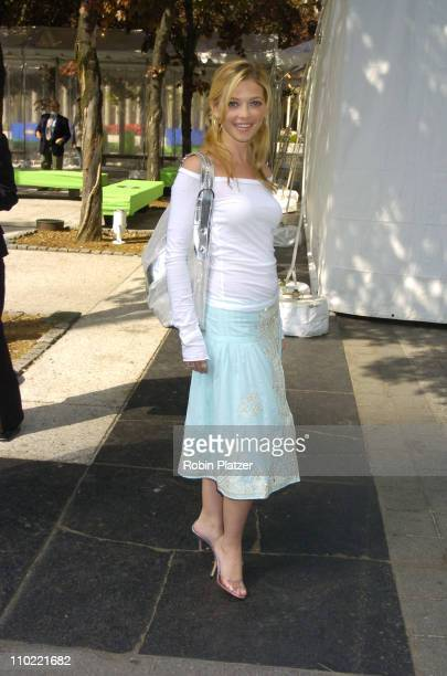 Amanda Detmer of What About Brian during 2005/2006 ABC UpFront at Lincoln Center in New York City New York United States