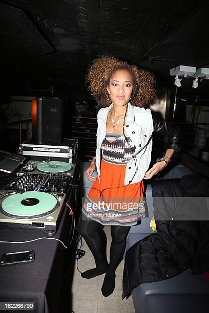 Amanda 'Diva' Seales attends Au Naturale And Curl Power Launch Party at Arena on February 20 2013 in New York City
