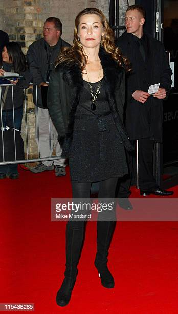 Amanda Donohoe arrives at the The British Independent Film Awards 2007 at the The Roundhouse November28 2007 in London