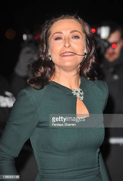 Amanda Donohoe attends A Night Of Heroes The Sun Military awards at Imperial War Museum on December 15 2010 in London England