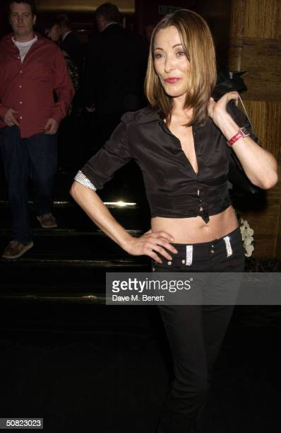 """Amanda Donohoe attends the afterparty following the press night for """"Beautiful And Damned,"""" a new musical based on the lives of American novelist F..."""