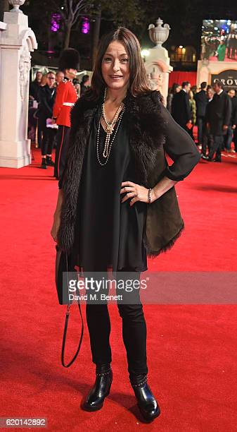Amanda Donohoe attends the World Premiere of new Netflix Original series The Crown at Odeon Leicester Square on November 1 2016 in London England