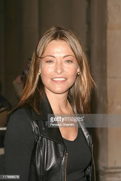 Amanda Donohoe during 100 Years Of Fifa Private View Arrivals at Royal Academy of Arts in London Great Britain