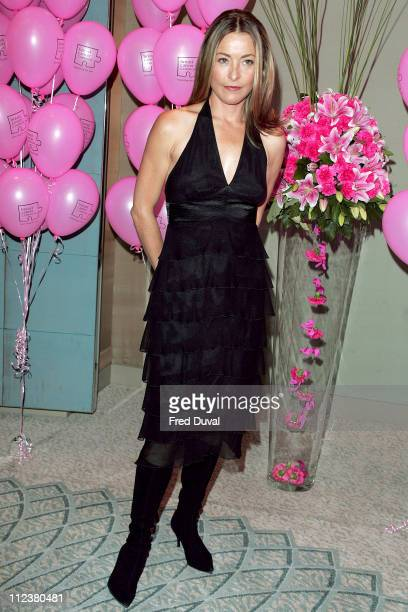 Amanda Donohoe during 11th Annual Pink Ribbon Ball at The Dorchester in London Great Britain