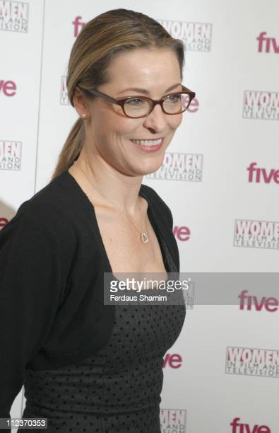 Amanda Donohoe during 2005 Women in Film and Television Awards at Hilton Park Lane in London Great Britain