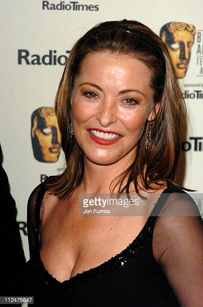 Amanda Donohoe during 50th Annual BAFTA Television Awards Press Room at Grosvenor House in London United Kingdom