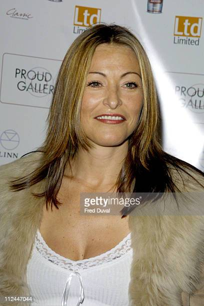 Amanda Donohoe during Down Under Exhibition May 1 2003 at Proud Galleries in London United Kingdom
