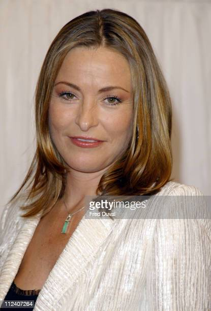 Amanda Donohoe during Hell's Kitchen Party May 23 2004 at Bricklane in London United Kingdom