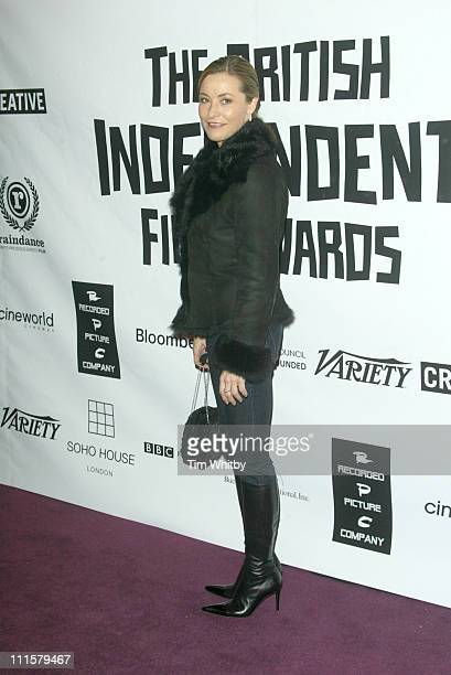 Amanda Donohoe during The 2005 British Independent Film Awards Arrivals at Hammersmith Palais in London Great Britain