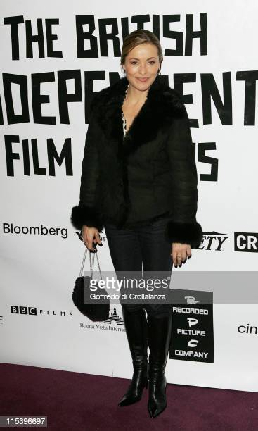 Amanda Donohoe during The 2005 British Independent Film Awards Inside Arrivals at Hammersmith Palais in London Great Britain