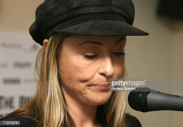 Amanda Donohoe during The 2005 British Independent Film Awards Press Launch at Bar 19/20 in London Great Britain