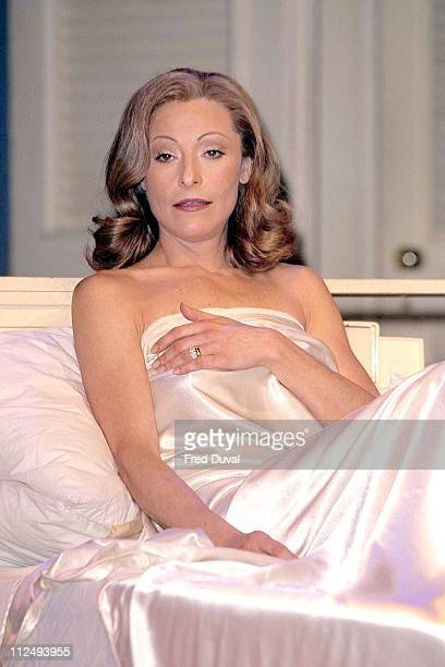 Amanda Donohoe during The Graduate Photocall February 16 2001 at Gielgud theatre in London Great Britain