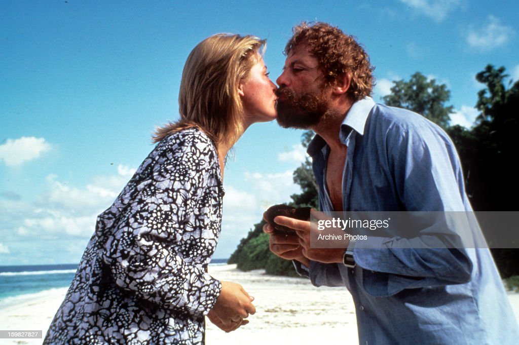 Amanda Donohoe And Oliver Reed In \'Castaway\' Pictures | Getty Images
