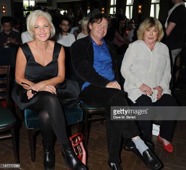 Amanda Eliasch Danny Moynihan and Marianne Faithful attend a debate at Liberatum Berlin hosted by Grey Goose vodka at Soho House Apartments Berlin...