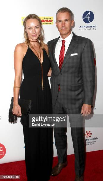 Amanda Enfield and Andy Enfield at the 17th Annual Harold Carole Pump Foundation Gala at The Beverly Hilton Hotel on August 11 2017 in Beverly Hills...
