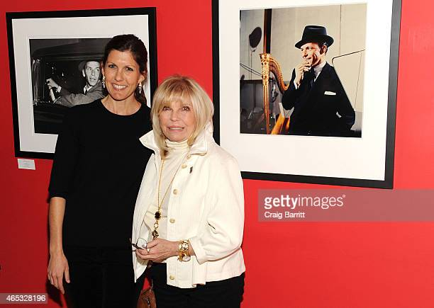 Amanda Erlinger and Nancy Sinatra attend The Sinatra Experience at Morrison Hotel Gallery on March 5 2015 in New York City