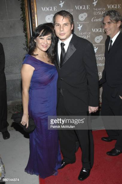 Amanda Fairey and Shepard Fairey attend The Art of Elysium 2nd Annual Heaven Gala at The Vibiana on January 10 2009 in Los Angeles California