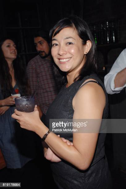 Amanda Fairey attend The Supper Club Shepard Fairey's SNO host a Bombay Sapphire Tea Party at The Tea Room on July 20 2010 in Hollywood California