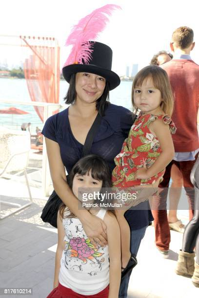 Amanda Fairey Vivienne Fairey and Madeline Fairey attend PAPER MAGAZINE and AOL Host a Brunch to Honor SHEPARD FAIREY at Mondrian Hotel on December 4...