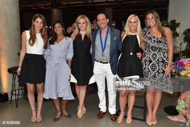 Amanda Fickler Michelle Almodovar Claudia Warner Harris Lane Trisha Stern and Dayna Field attend The Chosen Few's Third Anniversary Hosted by...