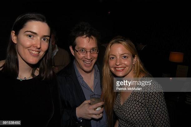 Amanda Filipacchi David Samuels and Elizabeth Wurtzel attend Book Release Party for Love Creeps by Amanda Filipacchi at Union Square Ballroom Lounge...