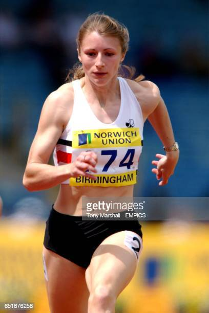 Amanda Forrester in action during the 100 Metres
