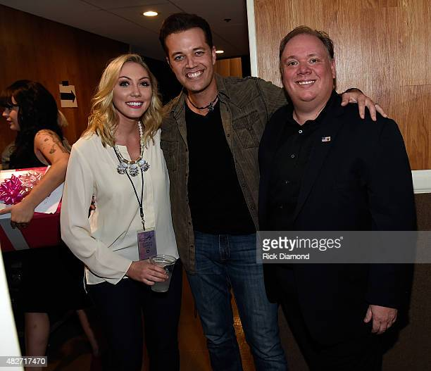 Amanda French Webster PR Singer/Songwriter Lucas Hoge and Kirt Webster Webster PR backstage during Dolly Parton Pure Simple Benefiting The Opry Trust...