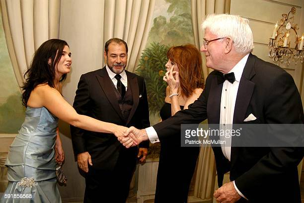 Amanda Friedman Neil Friedman Marlo Thomas and Phil Donahue attend The New York Society for the Prevention of Cruelty to Children Annual Gala at The...