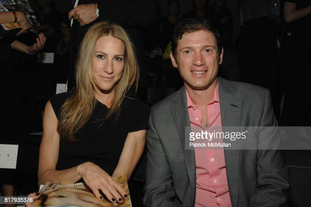 Amanda Fuhrman and Glen Fuhrman attend PRABAL GURUNG Spring 2011 Fashion Show at The Studio at Lincoln Center on September 11 2010 in New York City