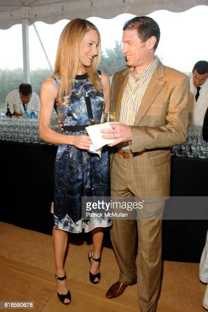 Amanda Fuhrman and Glenn Fuhman attend GUILD HALL SUMMER GALA CELEBRATING THE OPENING OF THE BARBARA KRUGER EXHIBITION at the Guild Hall on August 13...