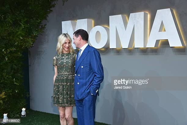 Amanda Fuhrman and Glenn Fuhrman attend at the Museum of Modern Art on June 1 2016 in New York City