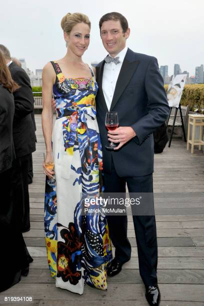 Amanda Fuhrman and Glenn Fuhrman attend HAUT BRION 75th Anniversary at The Metropolitan Museum of Art on July 12 2010 in New York City