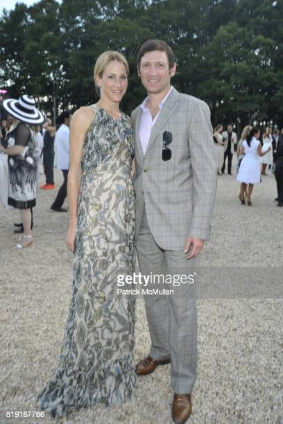 Amanda Fuhrman and Glenn Fuhrman attend Paradiso The 17th Annual Watermill Summer Benefit 2010 at Watermill Center on July 24 2010